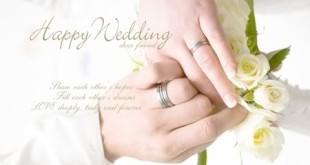Lời chúc đám cưới độc đáo