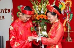 Trình tự nghi thức theo lễ cưới truyền thống