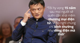 Những Câu Nói Kinh Điển Của Jack Ma bạn nên biết